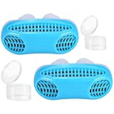 Anti Snoring Devices, 2 in 1 Snore Stopper & Air Purifier Filter with Travel Case Nose Vent Solution for Comfortable Sleep
