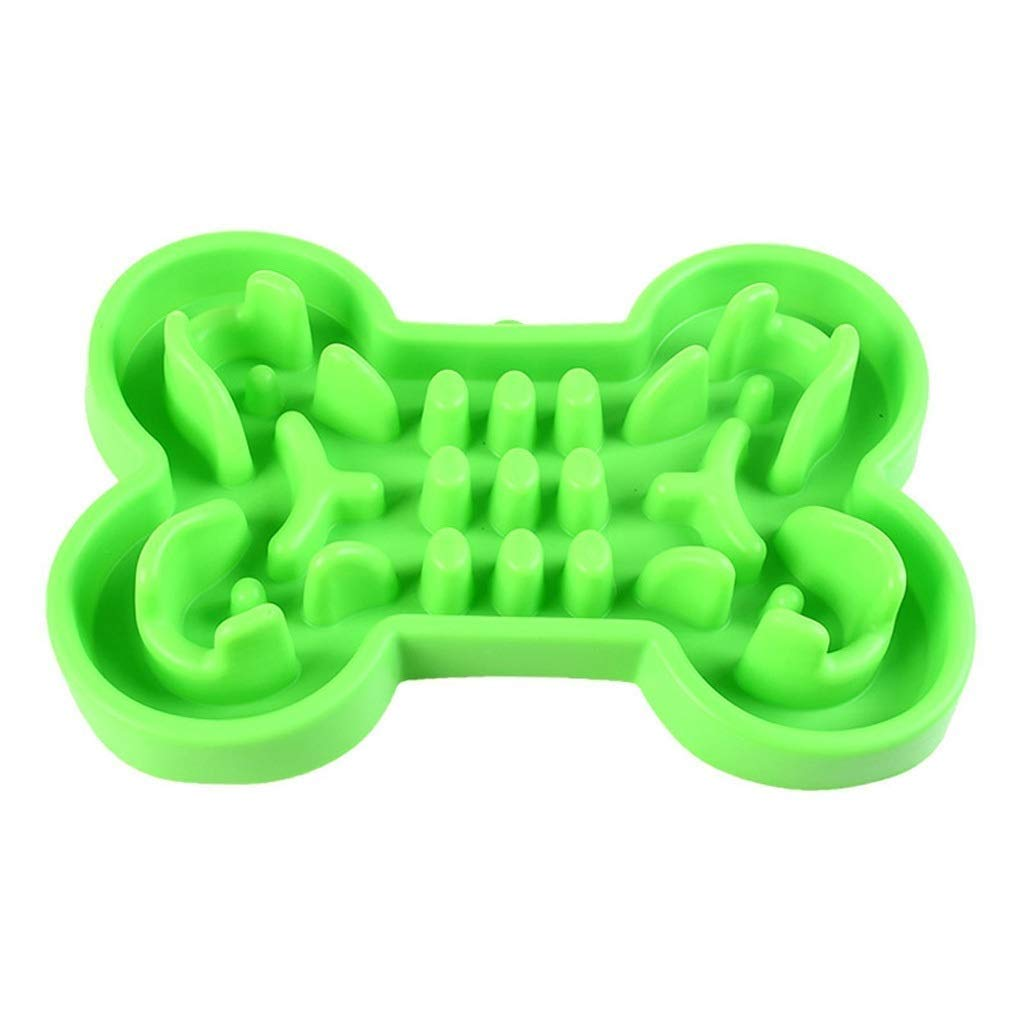 SCDCWW --Silicone Dog Slow Feeder Bowl, Interactive Bloat Stop Dog Bowl Fun Feeder