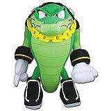 GE Animation Great Eastern GE-52633 Sonic The Hedgehog Vector The Crocodile Stuffed Plush, 13