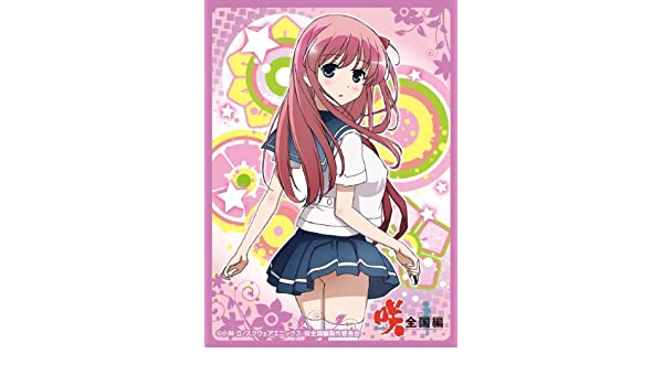 Saki Zenkoku-hen Haramura Nodoka Card Game Character Sleeves Collection No.277