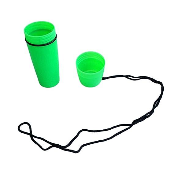 Sharplace Premium Kunststoff Wasserdicht Kapsel Beh/älter Trockenflasche Pillenbox Pillendose Tablettenbox Pille Box mit Schnur