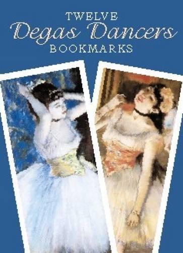 Twelve Degas Dancers Bookmarks (Dover - Store Edgars Catalogue