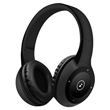 Auriculares Bluetooth, Bodecin Piel Amistosa Cuero 3D Sobre-Oído Estéreo Sonido Deporte Bluetooth 4.1