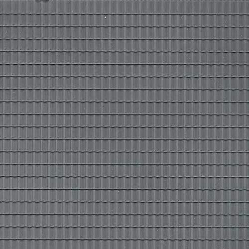 Auhagen 52226 Roof Tile Dark Grey Modelling Kit