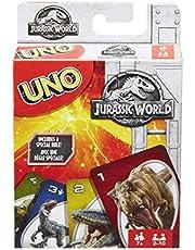 Juego de cartas UNO Jurassic world (Mattel FLK66)