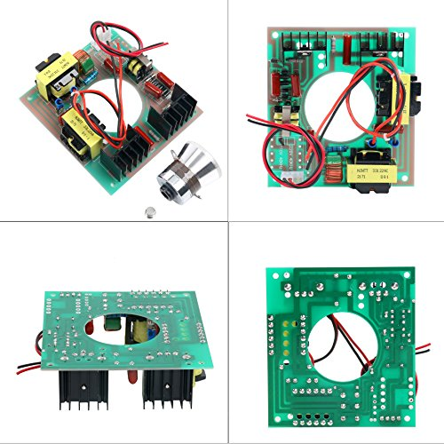 60W 40KHz Ultrasonic Cleaning Transducer Cleaner + Power Driver Board 110V AC by YaeCCC (Image #1)