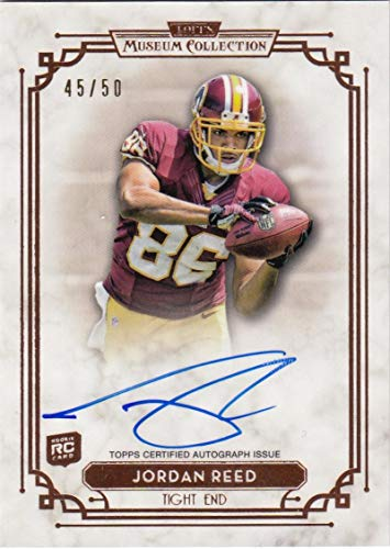(2013 Topps Museum Collection #SSA-JRE Jordan Reed #SSA-JRE NM Near Mint RC Rookie Auto 45/50)