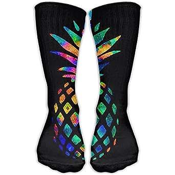 Amazon.com: Pineapple Colorful Knee Socks For Man&women