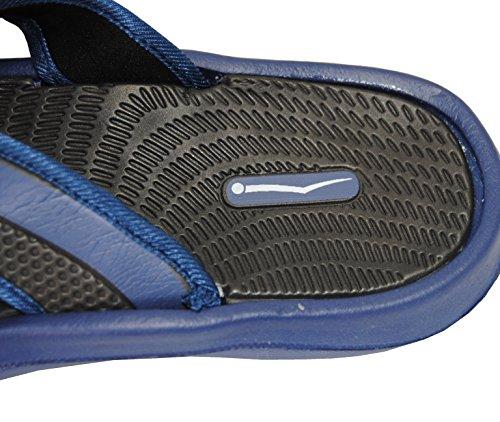 Flats Sandals Flip Flop Comfortable Summer Navy Slip Beach Thong Slipper Non Casual Rubber wqPz4z