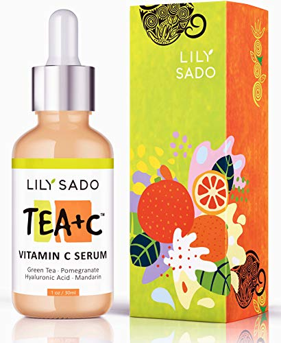 51AZcXno3mL - NEW Vitamin C Serum for Face - Anti Aging Skin Repair Daily Serum with Hyaluronic Acid + Green Tea Matcha + Pomegranate + Mandarin + Collagen Peptide - For Wrinkles, Fine Lines, Acne, Pore Minimizer