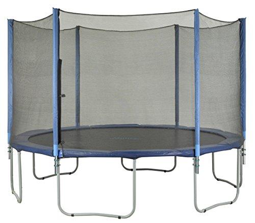 6 Pole Trampoline Enclosure Set for 15-Ft round | Trampoline net replacement | Trampoline net with poles | Replacement trampoline parts | Outdoor trampoline replacement net for trampoline nets by Upper Bounce (Image #5)