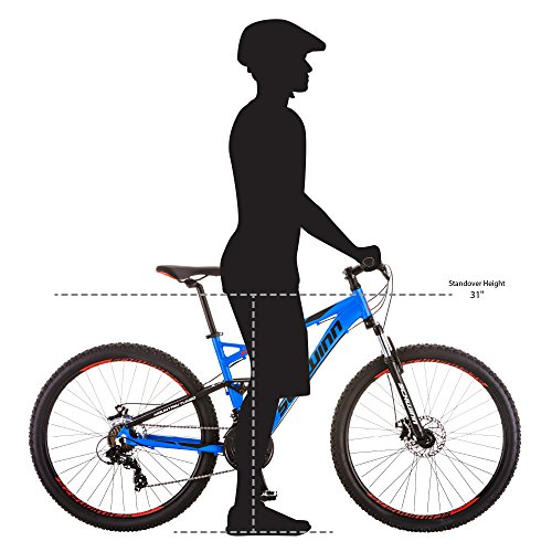 Schwinn Men's Protocol 2.7 Mountain Bike, 27.5'' Wheels, 17'' Frame Size, Matte Blue by Schwinn (Image #6)