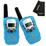 DOLIROX® Kids Children Mini Hand Held Walkie Talkie Set Wireless 2-Way Radio Intercom