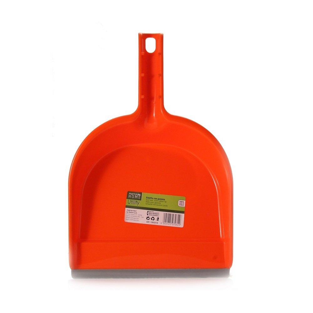 MartiniSPA Home Utility 7082P00 Paletta, Polipropilene, Gomma, Multicolore, 34x21x6.5 cm