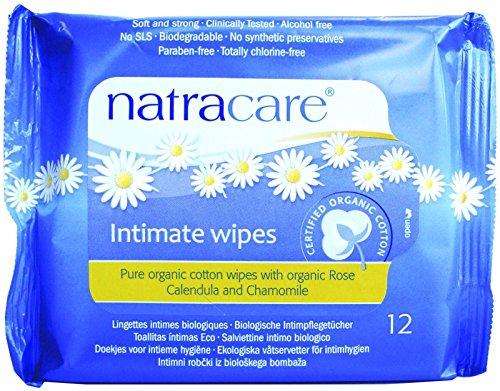 Natracare Cotton Organic Feminine Wipes - 5