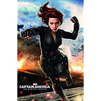Amazon.com: BLACK WIDOW (Scarlett Johansson) - Captain ...