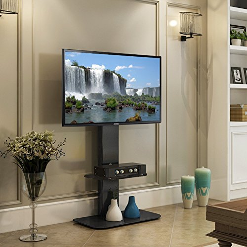 Fitueyes Floor TV Stand with Mount swivel for 32-60 Inches TV (60 Inches Tv)