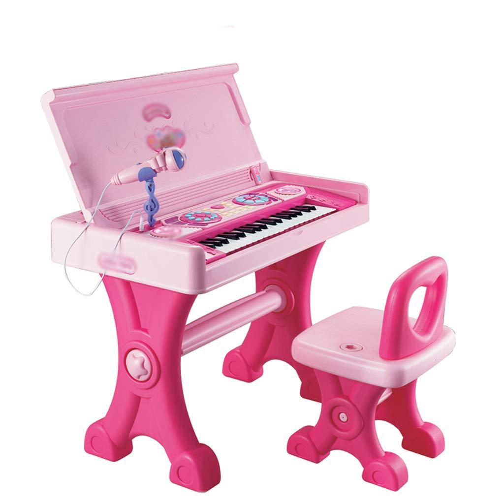 高級品市場 DUWEN DUWEN B07MTCHBN2 子供のキーボードプラスチックマイクと多機能ピアノガールのおもちゃ B07MTCHBN2, 欧都香ぴーなっつ:5b6d07ba --- senas.4x4.lt