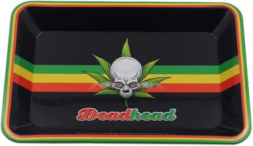 Bandeja de hojalata de estaño para enrollar Metal HD Accesorios para Fumar