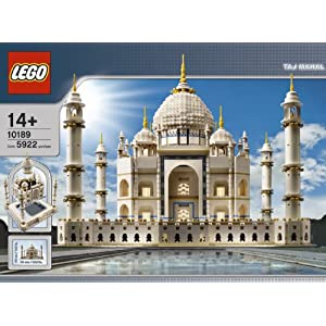 Lego 10189 Taj Mahal Model (Discontinued by manufacturer) - 51AZfMJ4opL - Lego 10189 Taj Mahal Model (Discontinued by manufacturer)