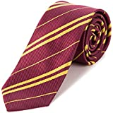 MISS FANTASY Tie Cosplay Party Costume Necktie Halloween Party Christmas Party Daily Use (Red)