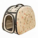 PetLike Pet Carrier Bag With Adjustable Shoulder Strap - 5 Bottom Teeth Durable Zipper - Comfy Breathable Ergonomic Collapsible Dog Bag - Ameliorate Travel Conditions - Keep Your Pet Calm and Safe