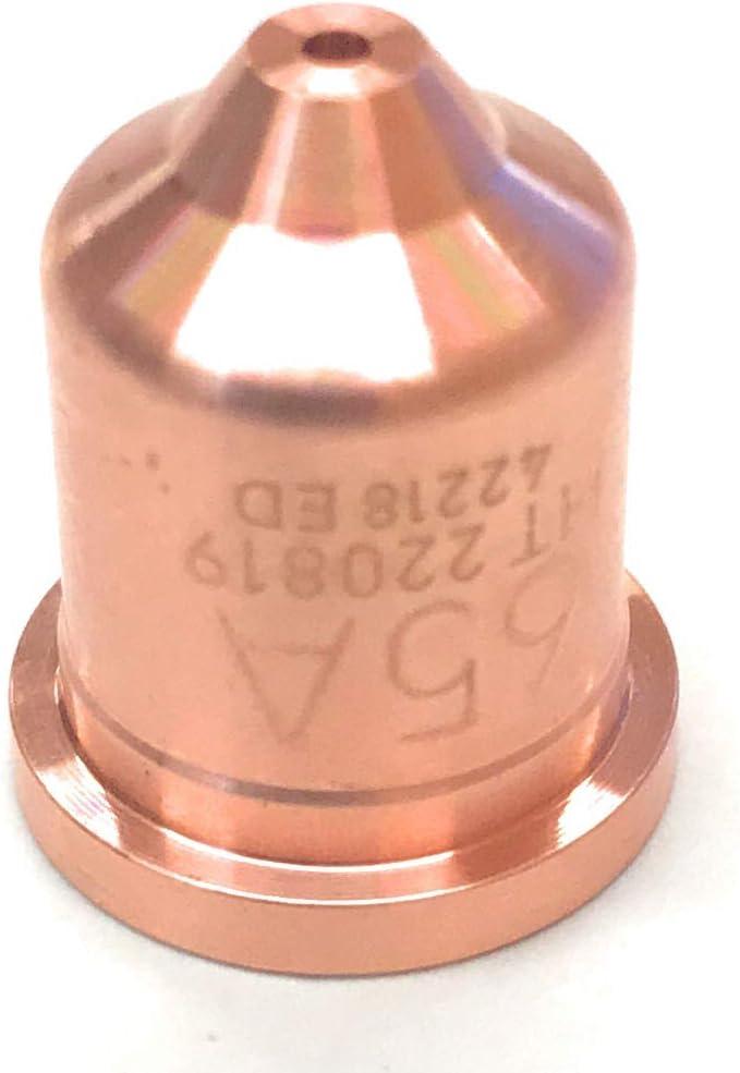 40 Pcs 220819 Nozzle Fits Hypertherm Powermax 65//85//105