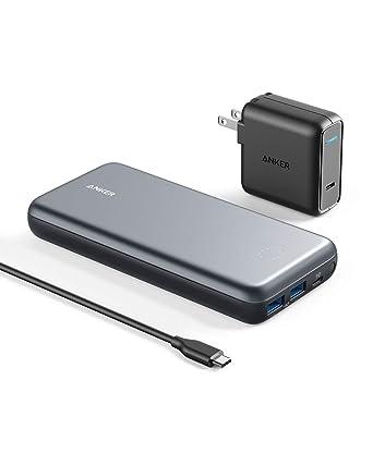 Anker PowerCore+ 19000 PD Hybrid Cargador Portátil y Hub USB ...