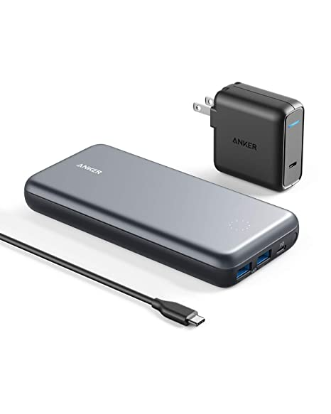 Amazon.com: Anker PowerCore+ 19000 PD Hybrid Cargador ...