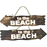 """Pfeilschild """" To the Beach """""""
