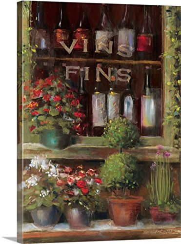 Carol Rowan Premium Thick-Wrap Canvas Wall Art Print entitled Wine