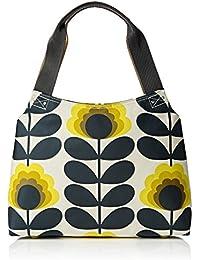 Summer Flower Stem Classic Zip Shoulder Bag