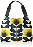 Orla Kiely Summer Flower Stem Classic Zip Shoulder Bag, Sunshine
