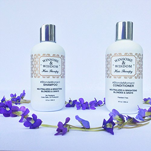 Blondemoment Purple Shampoo For Blonde Hair High Lights