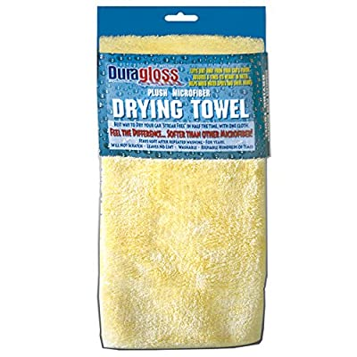 Duragloss 9002 1 Pack Plush Microfiber Drying Towel: Automotive [5Bkhe2010726]