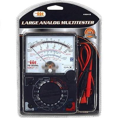 IIT 26410 Large Analog Multi Tester,