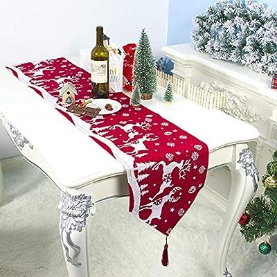 Airoads Camino de Mesa de Navidad de 30 x 200 cm, Mantel ...