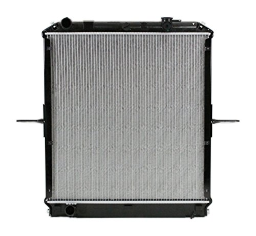 Radiator - Cooling Direct For/Fit 8087 04-10 Chevrolet GMC W-Series Truck Isuzu NPR 5.2L Diesel Plastic Tank Aluminum Core - Isuzu Truck Radiator