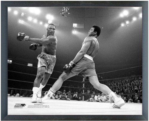best seller muhammad ali frazier framed photograph product image - Muhammad Ali Framed Pictures