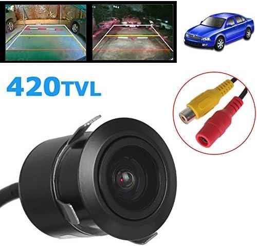ePathChina 1//4 Inch CCD Flush Mount Backup Rear View Camera 170 Degree Viewing Angle Universal Waterproof HD Parking Backup Reverse Camera