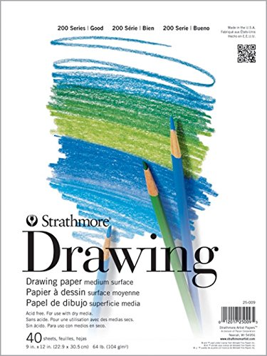 Pacon Strathmore Drawing Pad (PAC25011) (Strathmore Drawing 11x14)