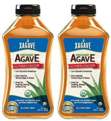 Xagave Mélange de qualité supérieure organique nectar d'agave, 23.5-Ounce/500ml (pack de 2)