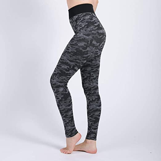 Amazon.com: High Waisted Womens Leggings Camo Capris- Smart ...