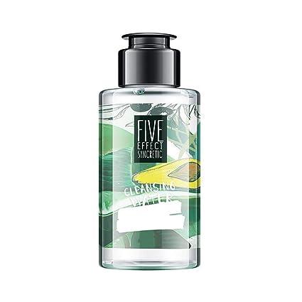 LeKing Aguacate Agua limpiadora suave, maquillaje limpiador facial, desmaquillante para ojos y labios 100ml