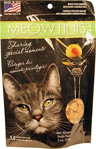 Omega Paws Meowtinis Cat Treats, Small