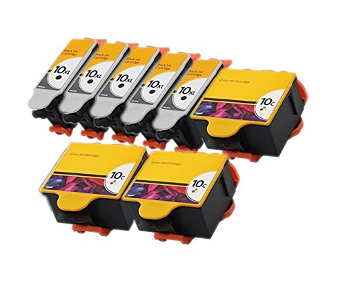ESTON 8 PACK 10 XL Ink Cartridges for Ko - 10 Printhead Shopping Results