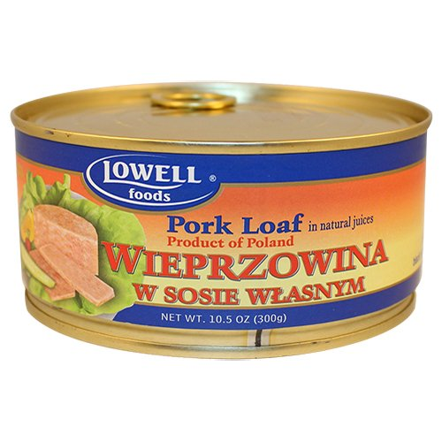 Lowell Foods Pork Loaf in Natural Juices 300g (Pack of 3)