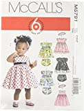 McCall's Patterns M5791 Infants' Lined