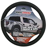 Alpena 10604 Truck/SUV Black Leather Steering Wheel Cover