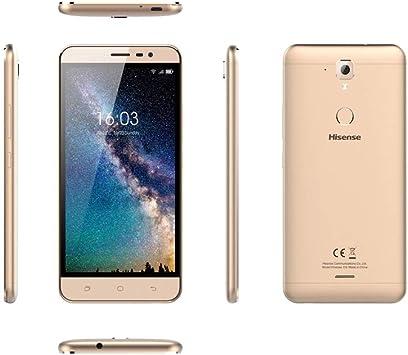 Hisense HS-F23 4G 16GB Oro - Smartphone (14 cm (5.5